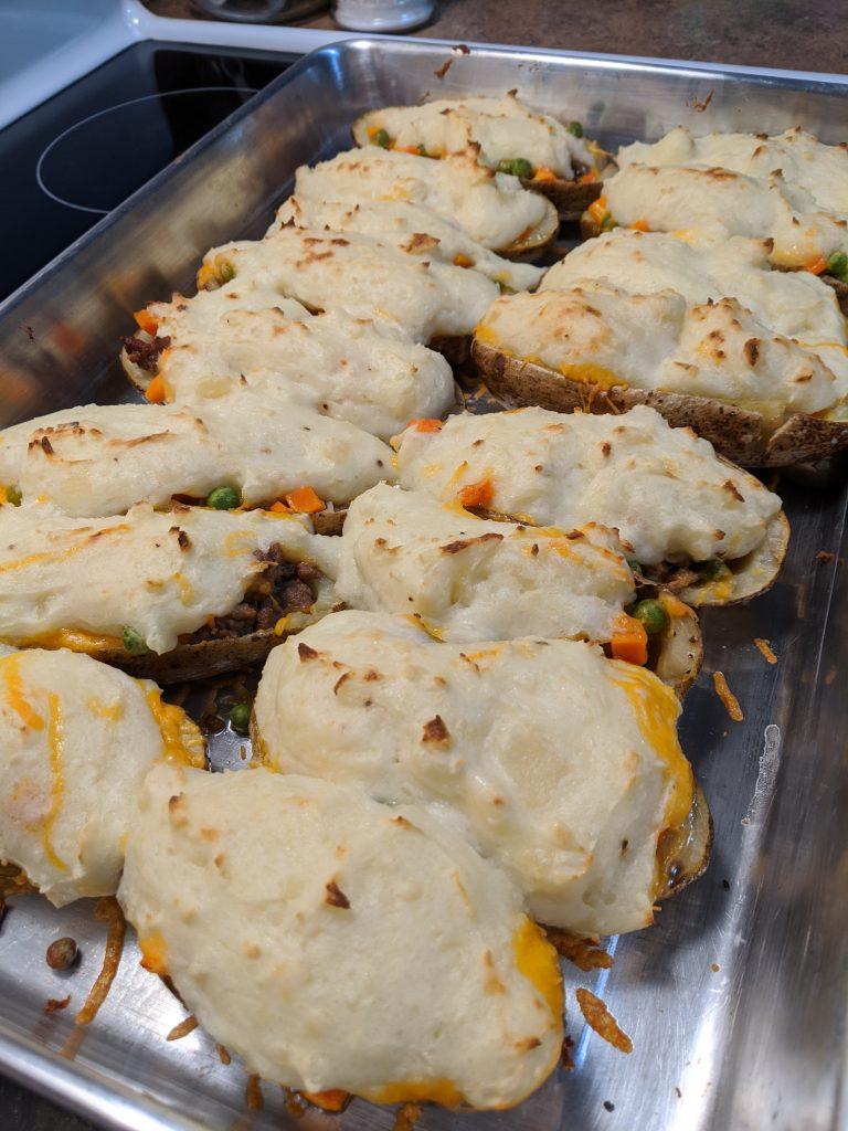 Shepherds Pie Twice Baked