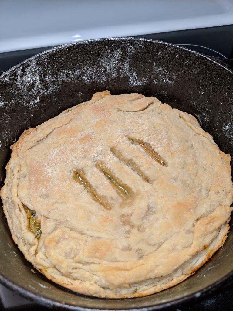 Chicken Pot Pie Recipe - Baked