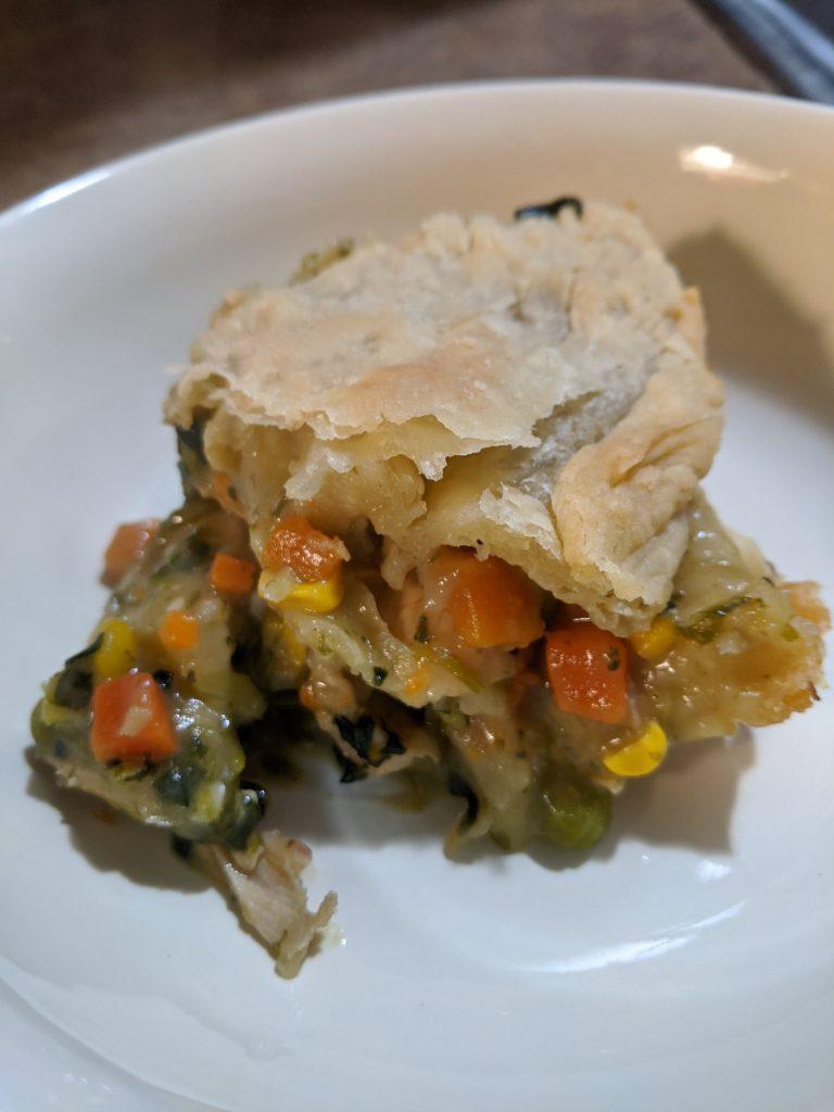 Chicken Pot Pie Recipe - Plated