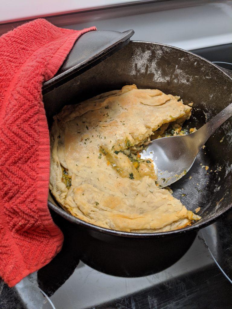 Chicken Pot Pie Recipe - Finished